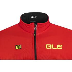 Alé Cycling PRS Dots DWR Longsleeve Jersey Men black-red